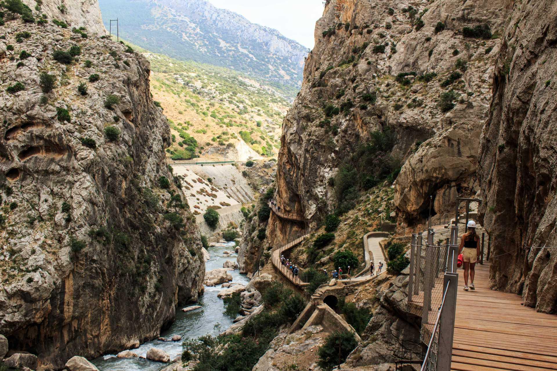 Caminito del Rey Spanien