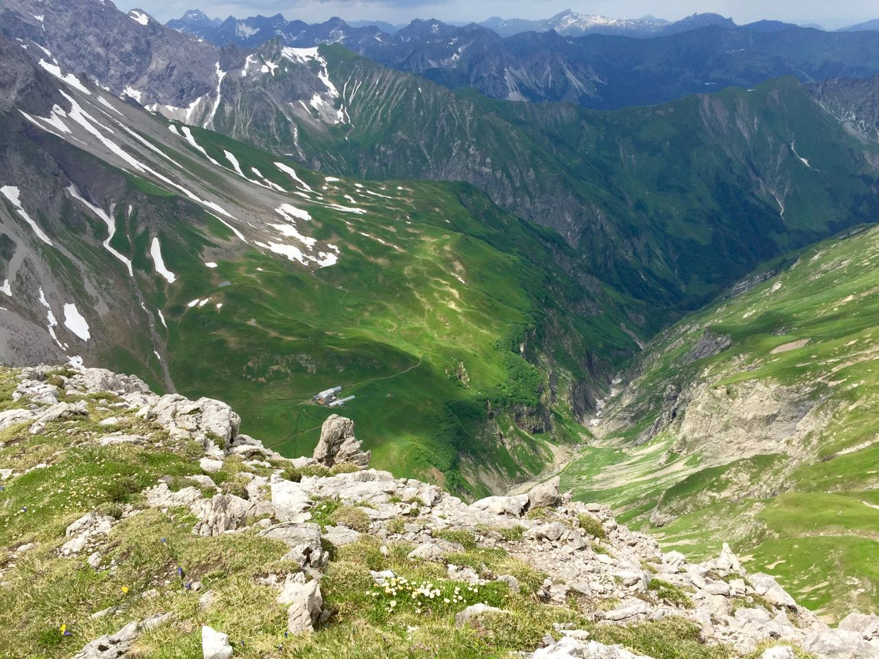 Alpenüberquerung zu Fuß